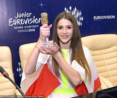 TVP podjęło decyzję. Eurowizja Junior 2019 będzie w Gliwicach. Na zdjęciu Roksana Węgiel
