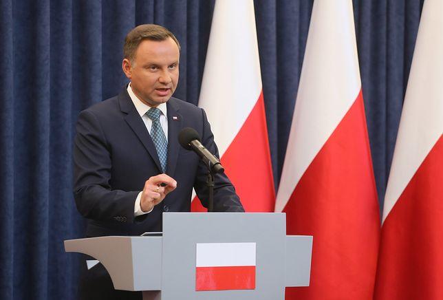 Prezydent Andrzej Duda zabrał głos na Twitterze