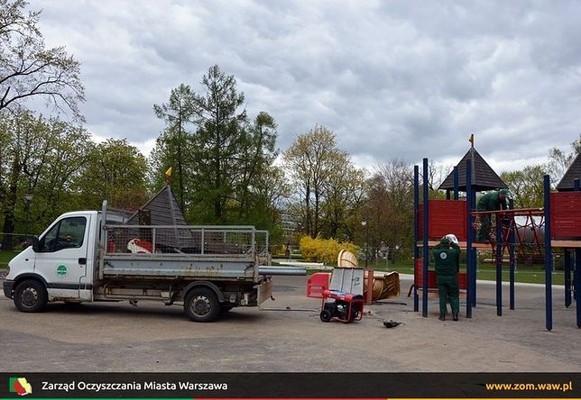 """W parku Ujazdowskim powstanie """"naturalny"""" plac zabaw [WIZUALIZACJE]"""