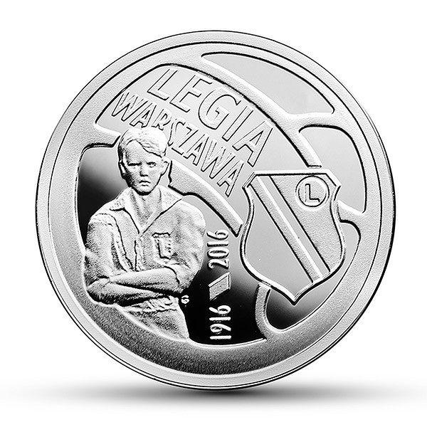 NBP wyprodukuje srebrną 5-złotówkę poświęconą Legii