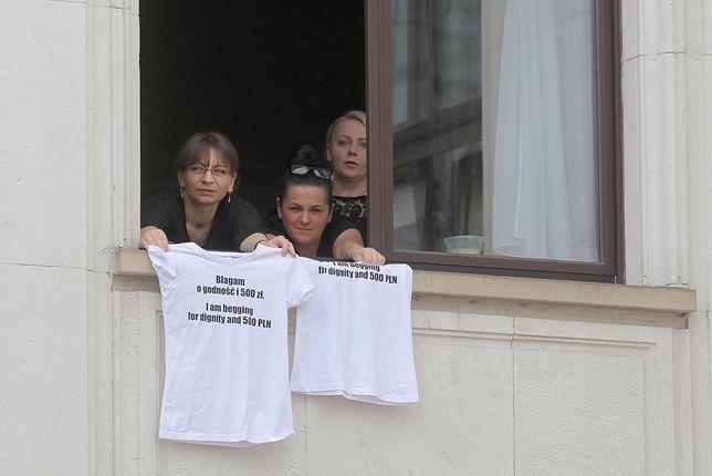 Zawieszony protest niepełnosprawnych w Sejmie. Hartwich dla WP: nikt z nami nie chce rozmawiać