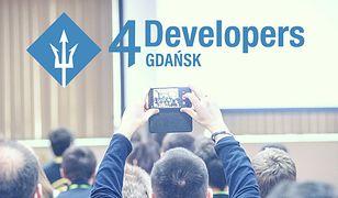 4Developers Gdańsk - zaczynamy programistyczną podróż po Polsce!