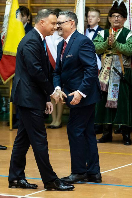 Andrzej Duda (prezydent) i Andrzej Duda (burmistrz Kolna)