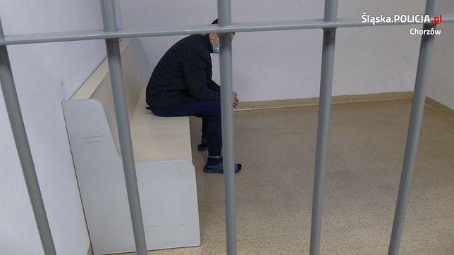 29-latek został zatrzymany za napad na na sklep w Chorzowie.