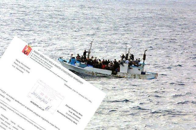 Warszawa chce przyjąć uchodźców? Radny pyta Gronkiewicz-Waltz o ISIS i konsultacje