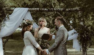 Joanna Humerczyk udziela ślubu humanistycznego