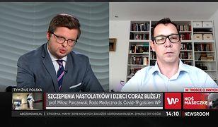 Prof. Parczewski o szczepieniach kobiet w ciąży: Jak najbardziej rekomenduję