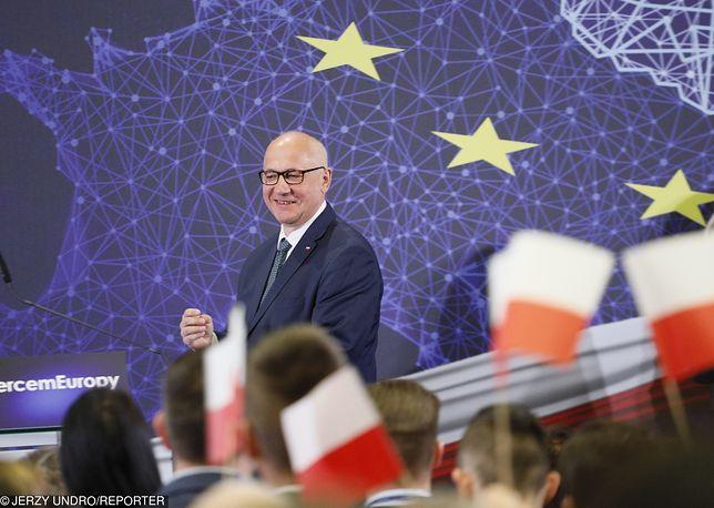 Joachim Brudziński, nowy szef sztabu wyborczego PiS. To on będzie dowodził kampanią partii rządzącej.