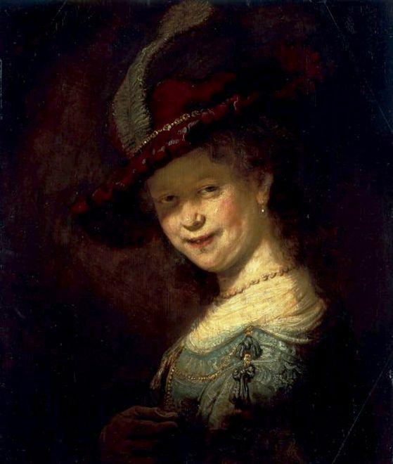 To Dzięki Niej Mógł Tworzyć Rembrandt
