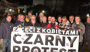Grupa mężczyzn nagrała filmik zachęcający do udziału w Czarnym Proteście.