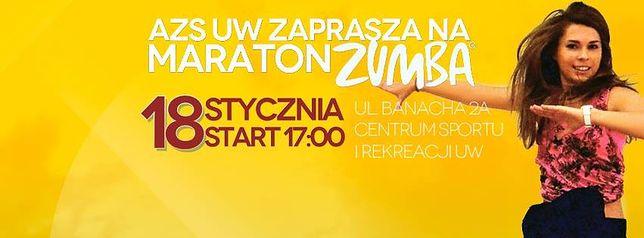 Za darmo: Maraton Zumba na UW