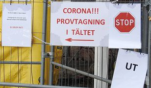 """Koronawirus. Maseczki znikają z półek w Szwecji. """"Nadchodzi szczyt zakażeń"""""""