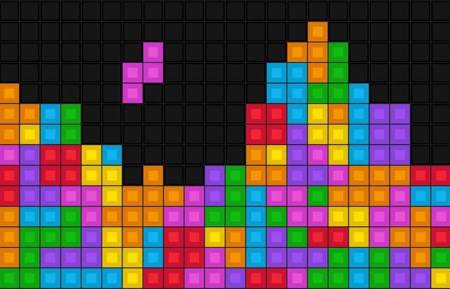 Tetris to jedna z najlepiej znanych gier logicznych