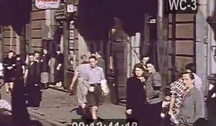 Warszawa w 1939 roku. Kolorowy film!
