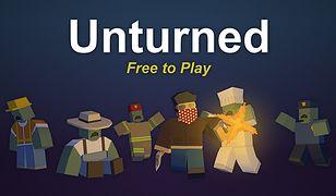 Unturned to niezależna gra sandboksowa z elementami survival zombie, wizualnie przypominająca grę Minecraft