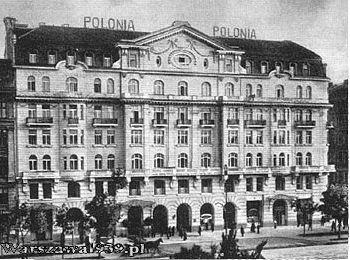 Hotel Polonia w 1939 r. (warszawa1939.pl)