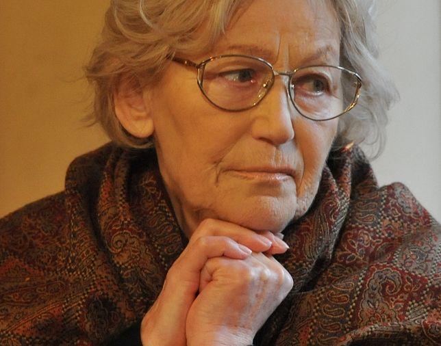 Teresa Budzisz-Krzyżanowska jest schorowana. Potrzebuje wsparcia finansowego