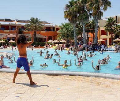 Lubianą przez turystów formą aktywności na wakacjach jest aqua-aerobik