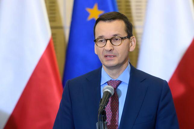 Wybory parlamentarne 2019. Premier Mateusz Morawiecki