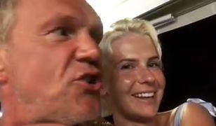 Cezary Pazura z żoną na wakacjach