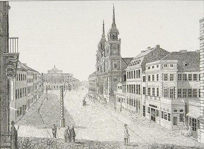 Zimowy spacer z przewodnikiem po Krakowskim Przedmieściu