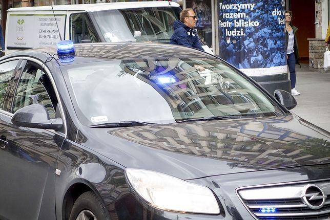 Warszawa. Radiowóz zderzył się ze skodą