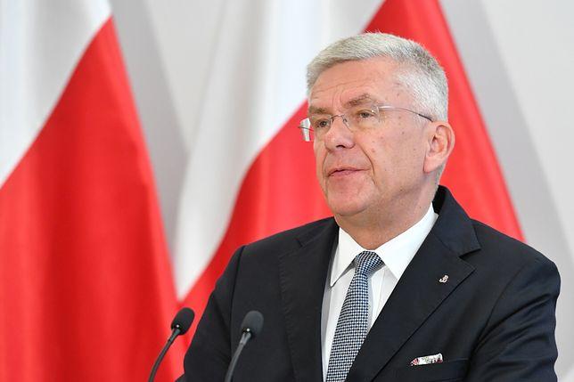Stanisław Karczewski jest pewien, że nie ma podstaw do dymisji Zbigniewa Ziobry