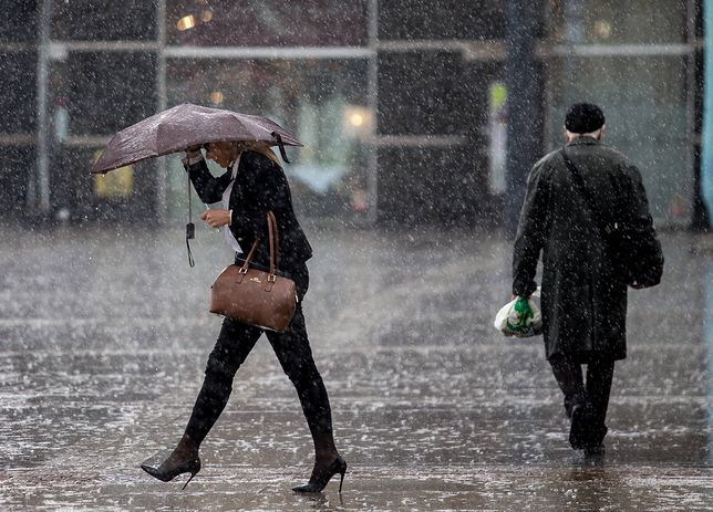 Deszczowa aura w części Polski
