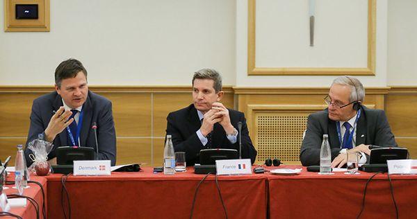 Starbaek Christensen, Louis Gautier i Stanisław Koziej