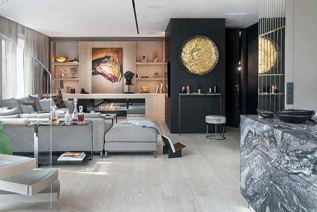 Apartament w stylu nowojorskim. Wielki świat spotyka się z klasyczną elegancją