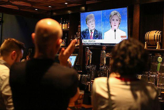 Wybory w USA. Ostatnia debata Hillary Clinton-Donald Trump. Pierwsze sondaże wskazują wygraną Clinton