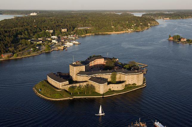 Wyspa Vaxholm, Szwecja