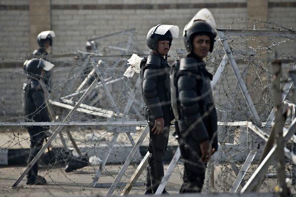 Policja w Kairze