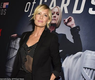 """Robin Wright promuje """"House of Cards"""""""