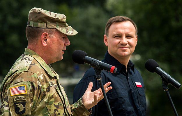 Dowódca US Army w Europie generał Ben Hodges: Polska jest liderem w NATO