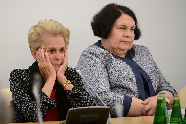 Anna Sobecka z PiS i Iwona Śledzińska-Katarasińska z PO