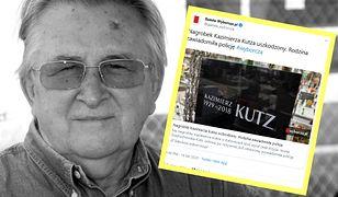 """""""Mój mąż by sobie żadnego znaku na swoim grobie nie życzył"""" - mówi wdowa po Kazimierzu Kutzu"""