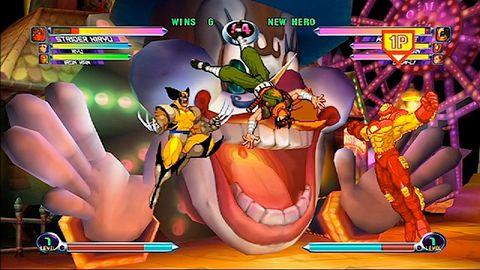 Marvel vs. Capcom 2 trochę później