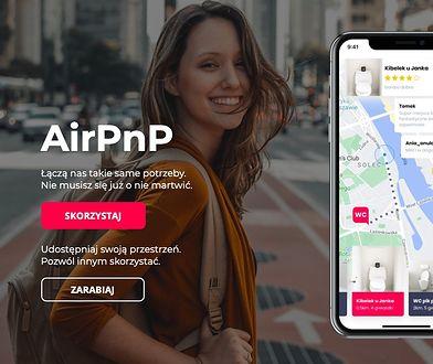 Warszawa. Kibelek u Janka. Żart z AirPnP, aplikacją pozwalającą na współdzielenie się… łazienką