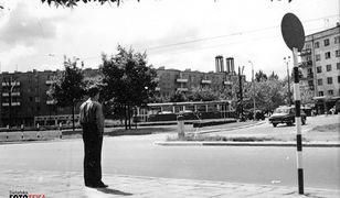 Warszawa. Zdjęcie ulicy Mickiewicza z lat 60.