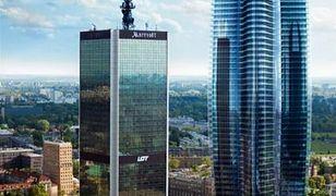 260-metrowy wieżowiec stanie przy hotelu Marriott