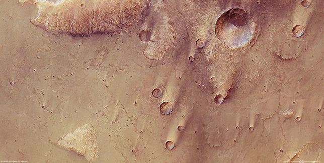 NASA udostępniła nagrania dźwięków z powierzchni Marsa