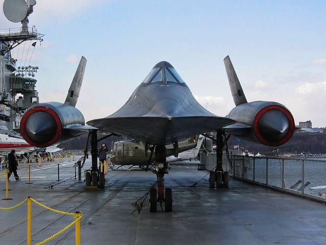 Tajemnice SR-71 Blackbird - najpotężniejszego samolotu świata