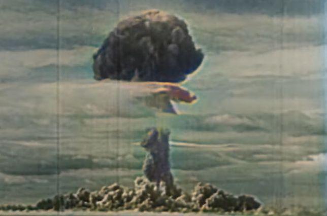 Nagranie testu sowieckiej bomby atomowej RDS-3