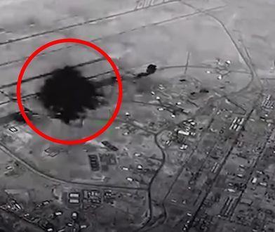 Iran użył cywilnych satelitów do ostrzelania amerykańskiej bazy
