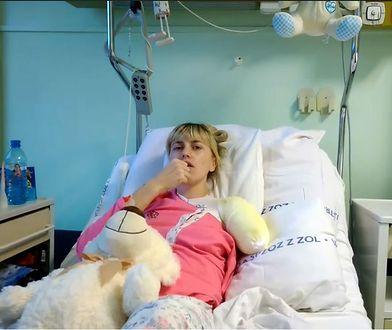Alona Romanenko została okaleczona po wypadku w pralni.