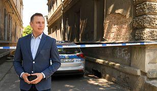 Brejza zawiadomił policję o usiłowaniu zabójstwa jego rodziny