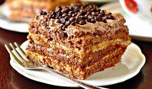 """Ciasto czekoladowe """"krówka"""""""