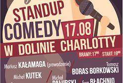 Po raz pierwszy w Dolinie Charlotty 17 sierpnia o 19:00 odbędzie się Gala Stand Up Comedy
