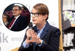 Koronawirus. Korwin Piotrowska wytyka brak maseczki u premiera Morawieckiego. Porównała go do Toma Cruise'a